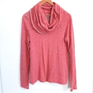 FREE PEOPLE beach cowl neck 2 body corps shirt